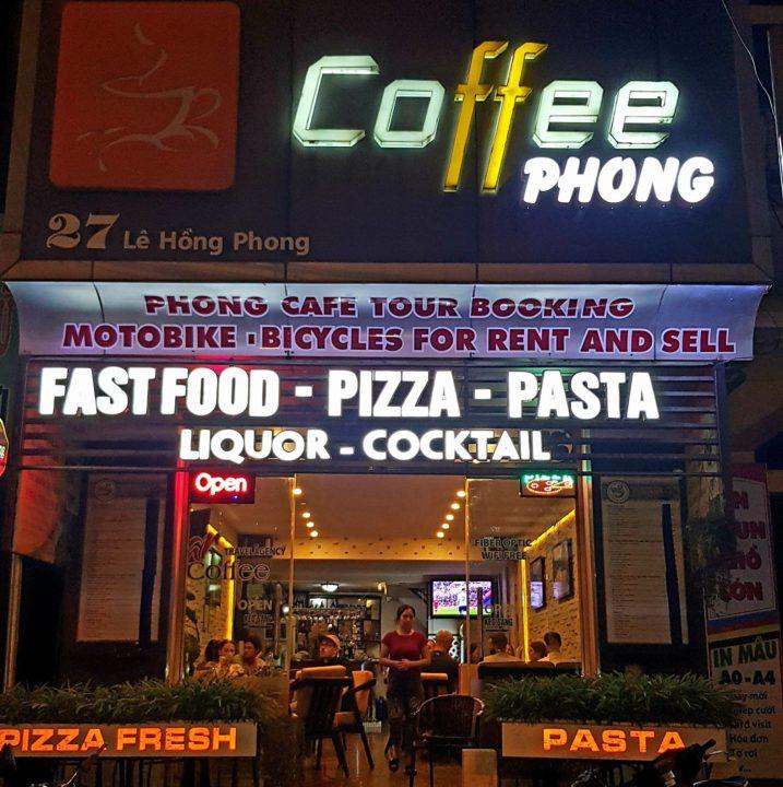 Coffee Phong Ninh Binh Tourist Center Vietnam