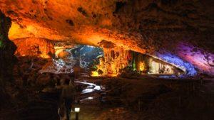 Trinh cave Ninh Binh Tourist Center Vietnam