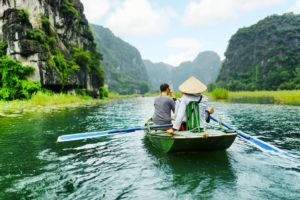 Tam Coc Boat tour Ninh Binh Tourist Center Vietnam