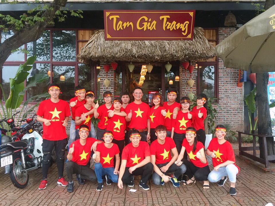 Tam Gia Trang restaurant Ninh Binh Tourist Center Vietnam