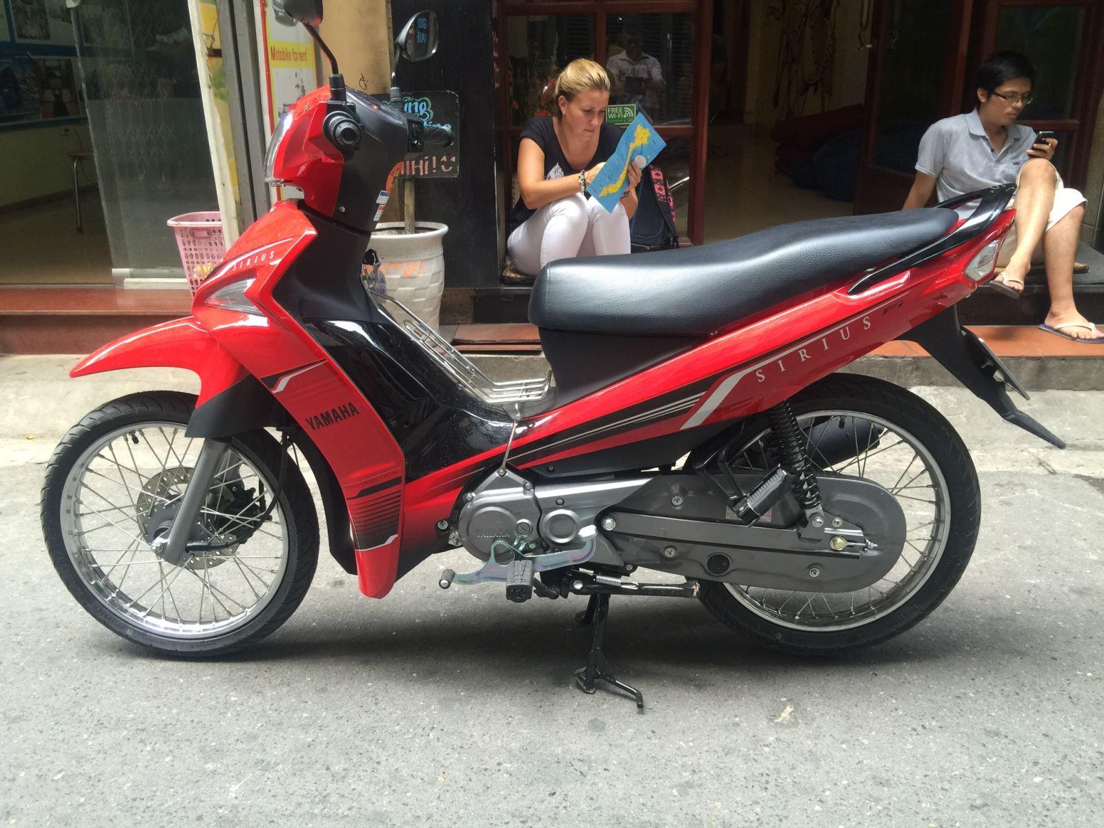 Rent a motorbike Ninh Binh Tourist Center