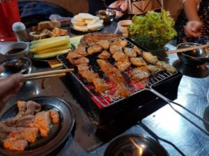 Street BBQ - Ninh Binh Tourist Center